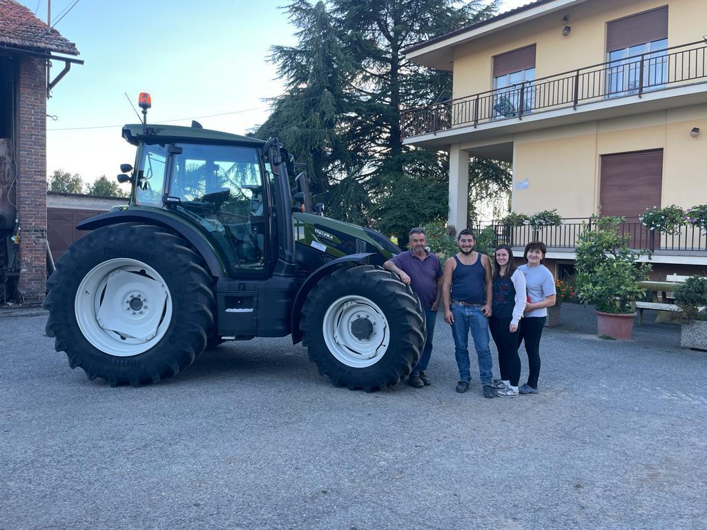 💥 Consegnato VALTRA G135 a Cravero Alessandro strada Cavallotta di Savigliano (Cn) ☄️🔥